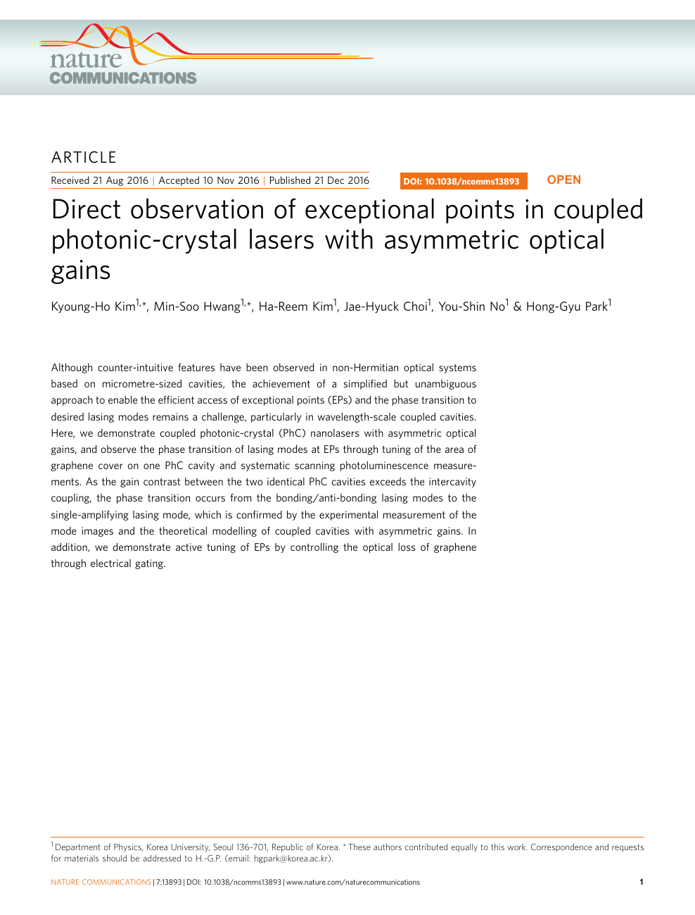 Direct observation of exceptional points in coupled photonic