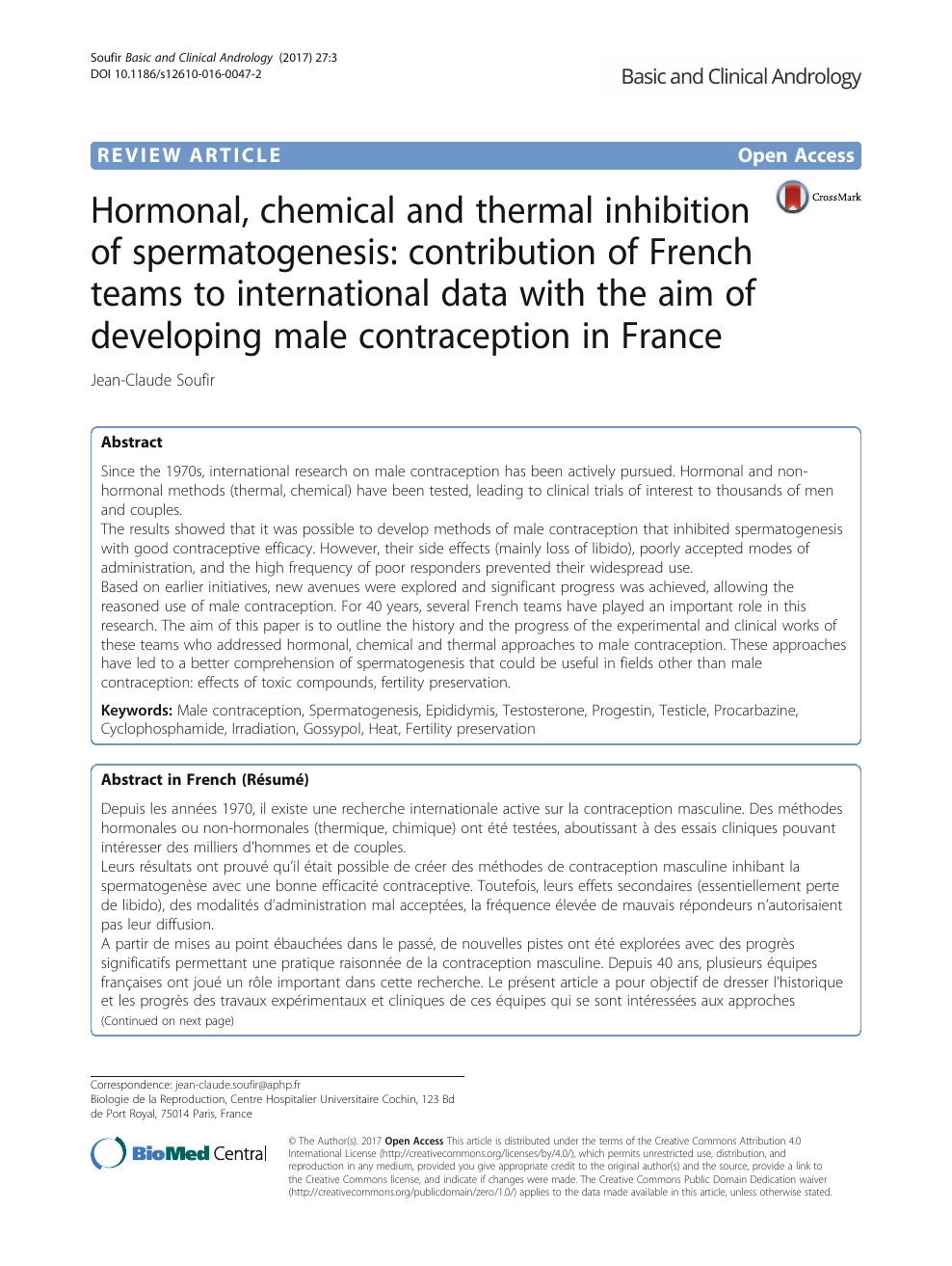 Hormonal, chemical and thermal inhibition of spermatogenesis