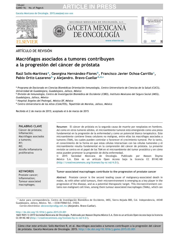 interferón para el cáncer de próstata
