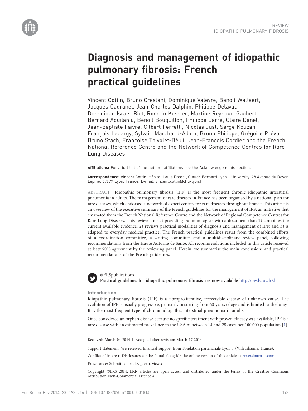 Maison En Bois Pour 100000 diagnosis and management of idiopathic pulmonary fibrosis