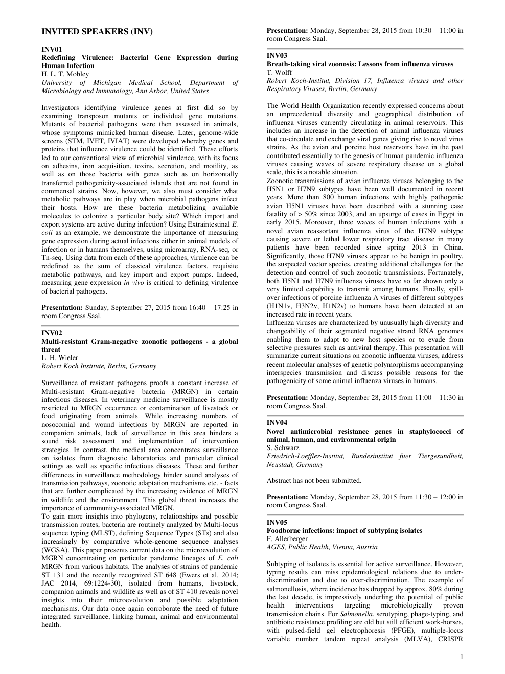 a3824d9e2284e4 DGHM Lecture 2015 – topic of research paper in Biological sciences ...
