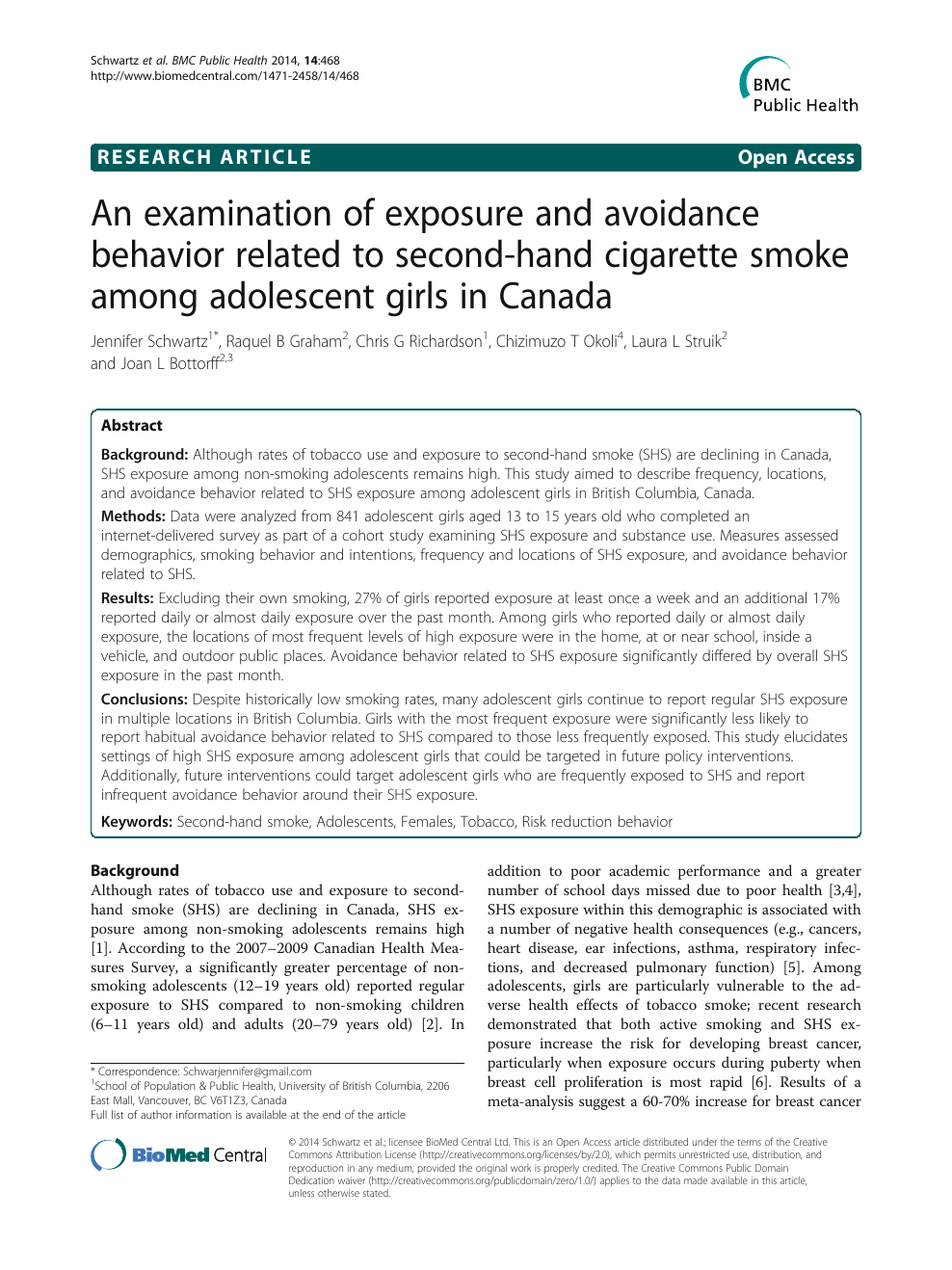 An examination of exposure and avoidance behavior related to