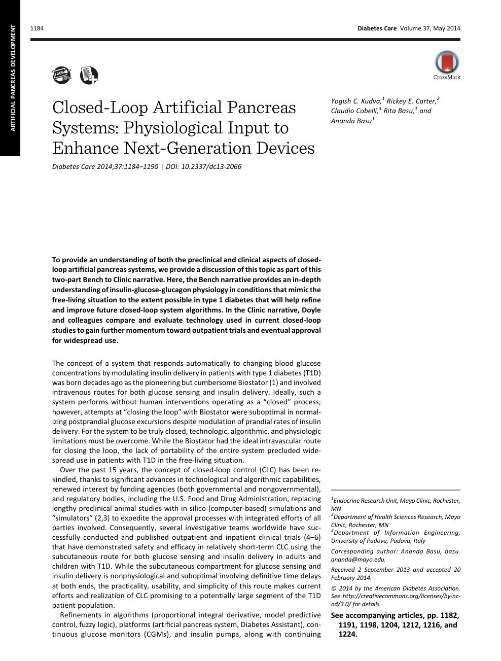 asociación americana de diabetes páncreas artificial