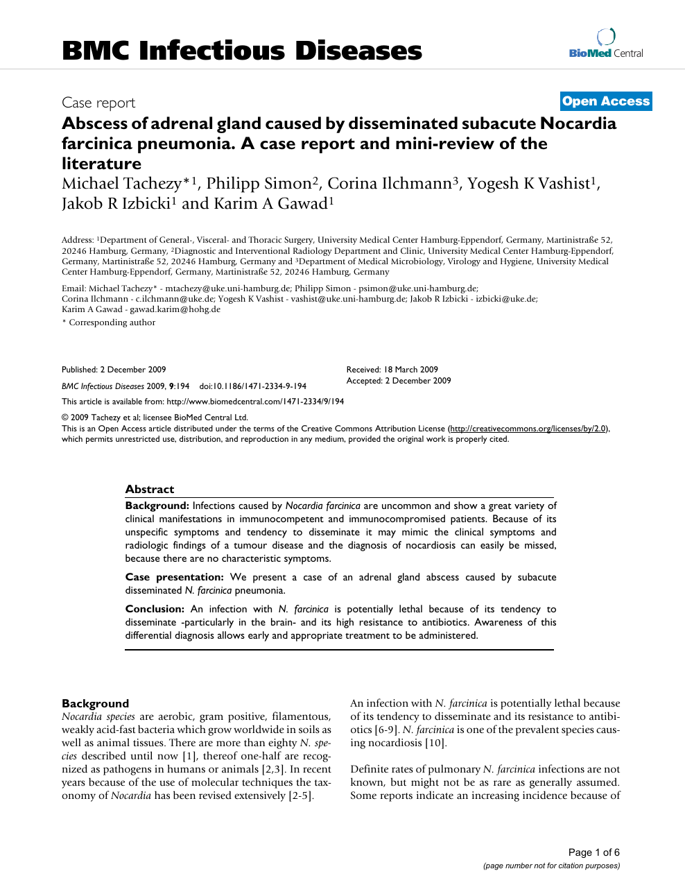 literature review of adrenal gland