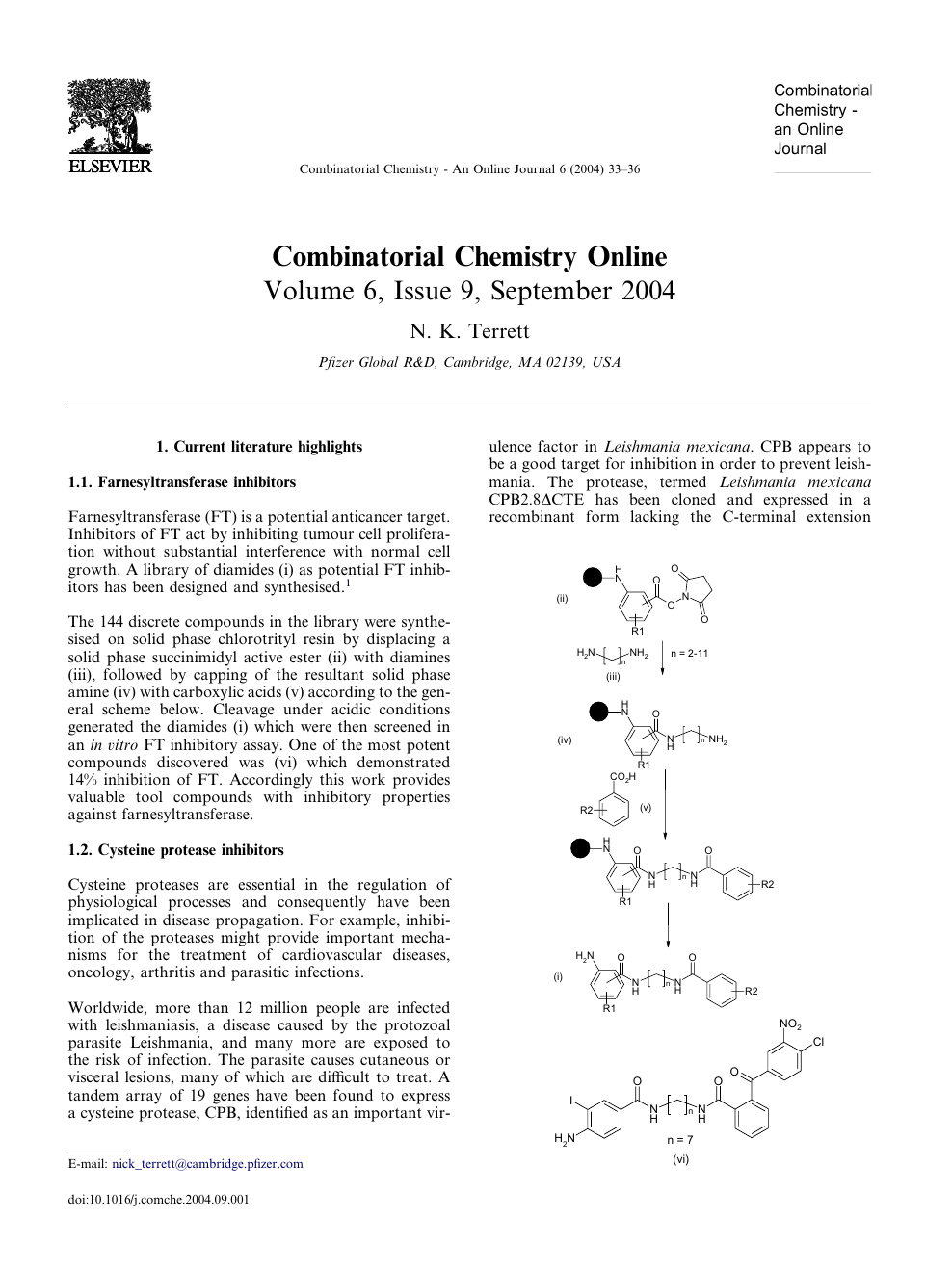 physical chemistry journals