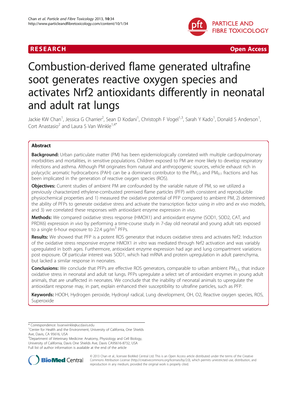 Combustion-derived flame generated ultrafine soot generates
