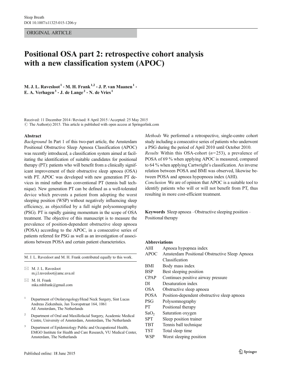 Positional Osa Part 2 Retrospective Cohort Analysis With A New Classification System Apoc Topic Of Research Paper In Clinical Medicine Download Scholarly Article Pdf And Read For Free On Cyberleninka Open