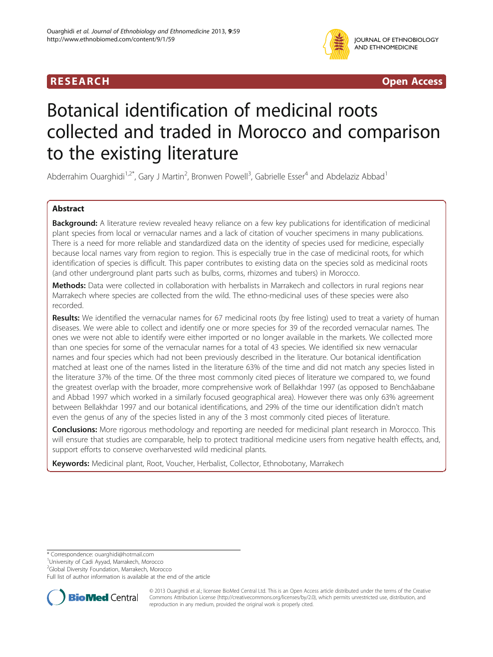 Difference Niveau Entre 2 Pieces botanical identification of medicinal roots collected and