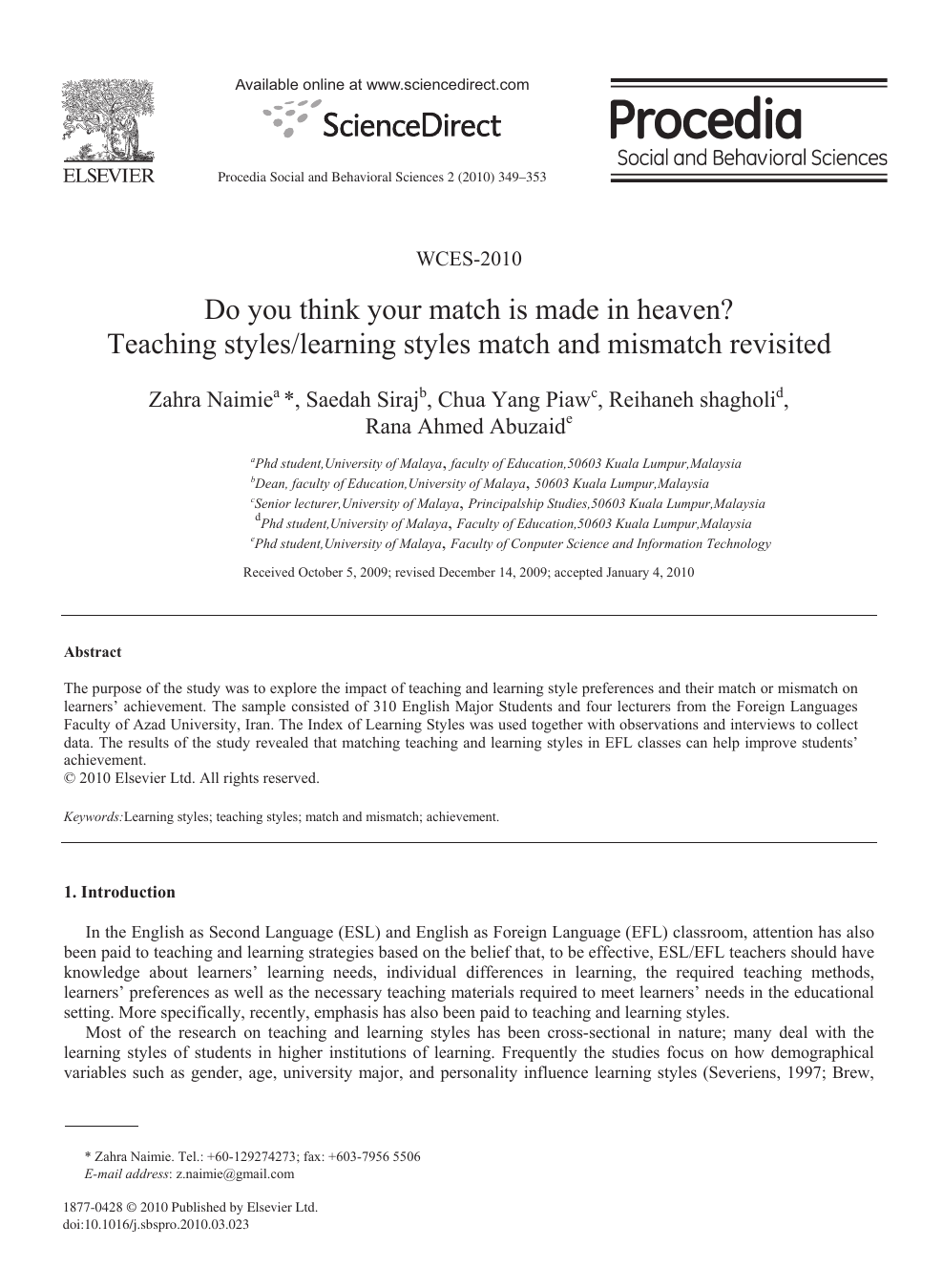 JETL (Journal Of Education, Teaching and Learning)