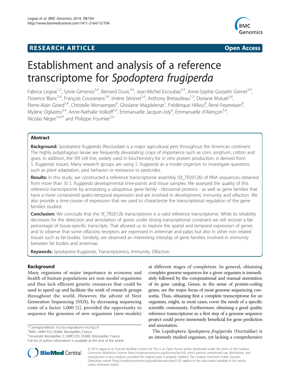 Formation Home Staging Montpellier establishment and analysis of a reference transcriptome for
