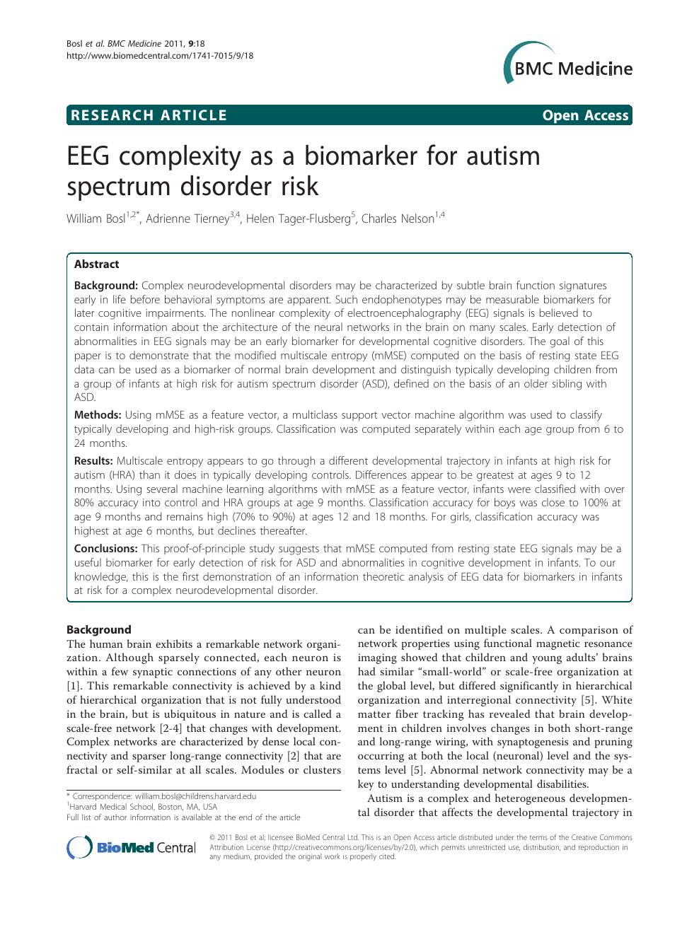 Eeg Signals Accurately Predict Autism >> Eeg Complexity As A Biomarker For Autism Spectrum Disorder