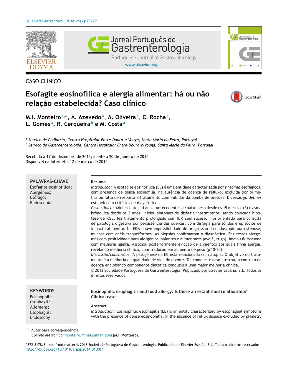 adulti di dieta esofagite eosinofila