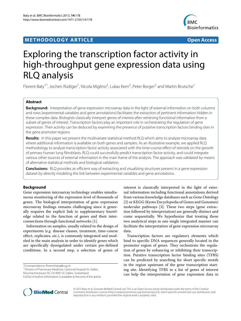 Exploring Bioinformatics Pdf