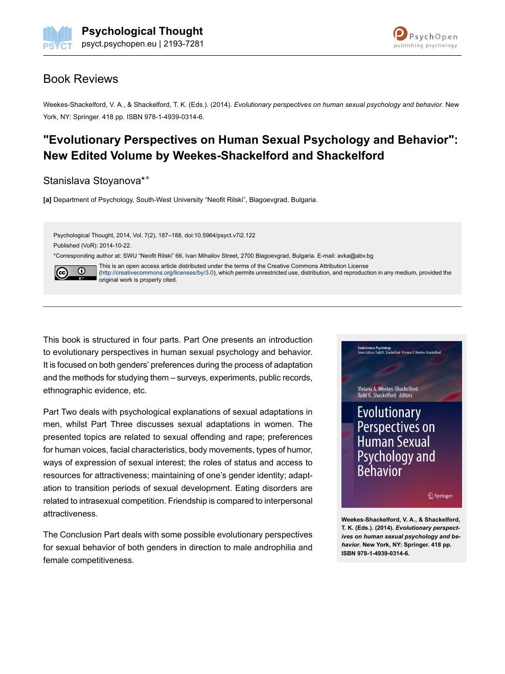 Human Psychology Book Pdf