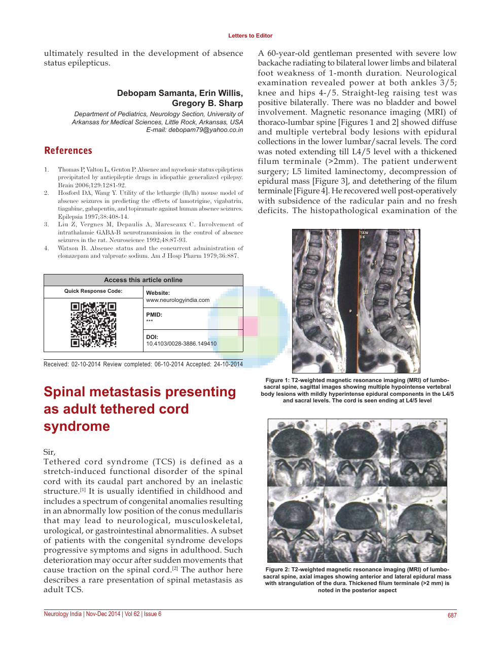 Spinal Metastasis Presenting As Adult Tethered Cord Syndrome Topic Of Research Paper In Clinical Medicine Download Scholarly Article Pdf And Read For Free On Cyberleninka Open Science Hub $ normal position essentially, a normal the entity of an occult tight filum terminale syndrome, characterized by clinical findings consistent. cyberleninka