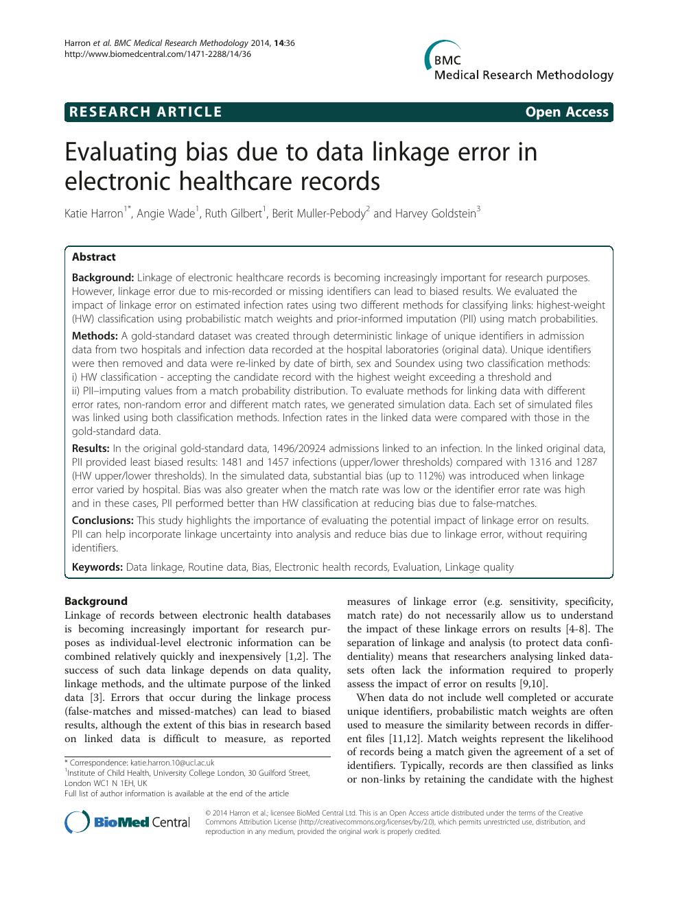 healthcare research paper topics