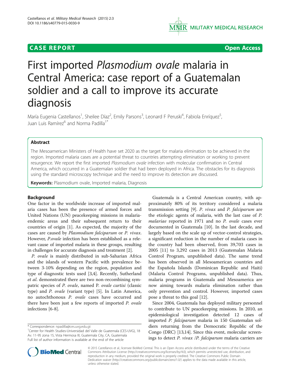 First imported Plasmodium ovale malaria in Central America ... on map of central america, western central america, cholera central america, yellow fever central america, map of malaria in latin america, polio central america, rivers in central america, malaria map south america, schistosomiasis central america, measles central america, hiv/aids central america, syphilis central america, poverty central america, ebola central america, dengue fever central america, typhus central america, malaria north america, leishmaniasis central america,
