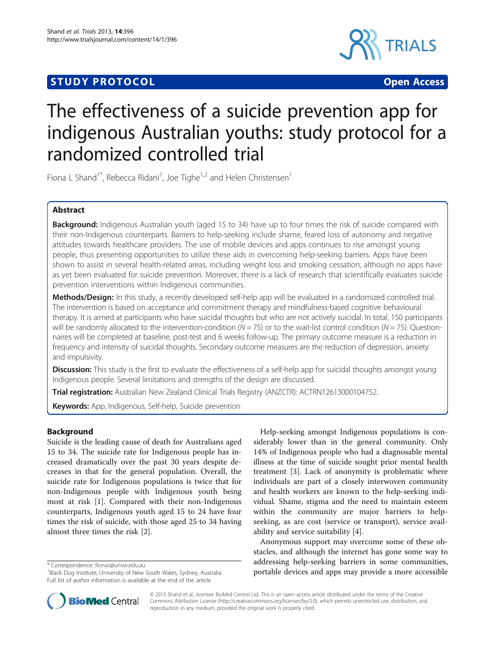 suicide prevention research paper