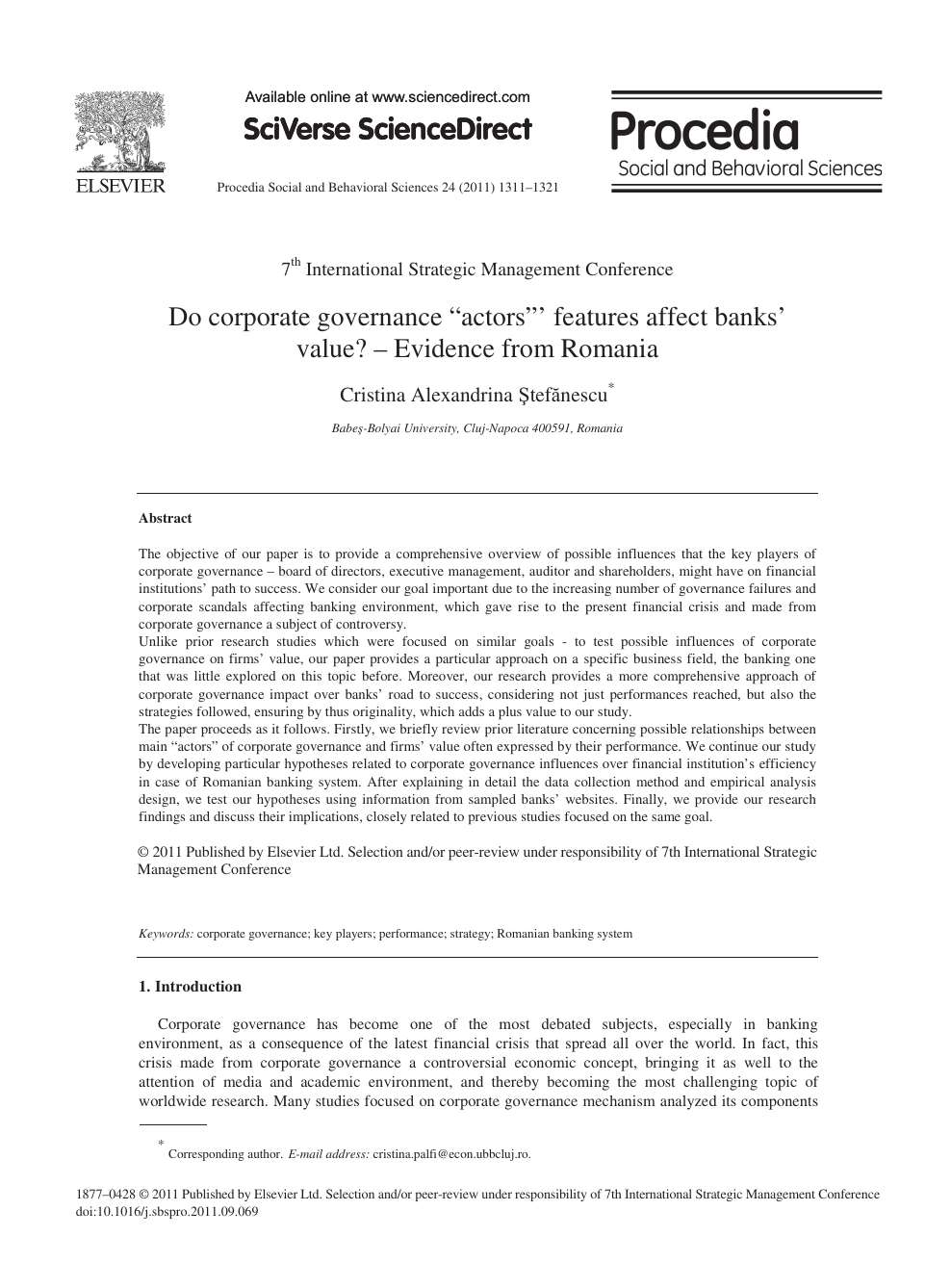 corporate governance research paper topics