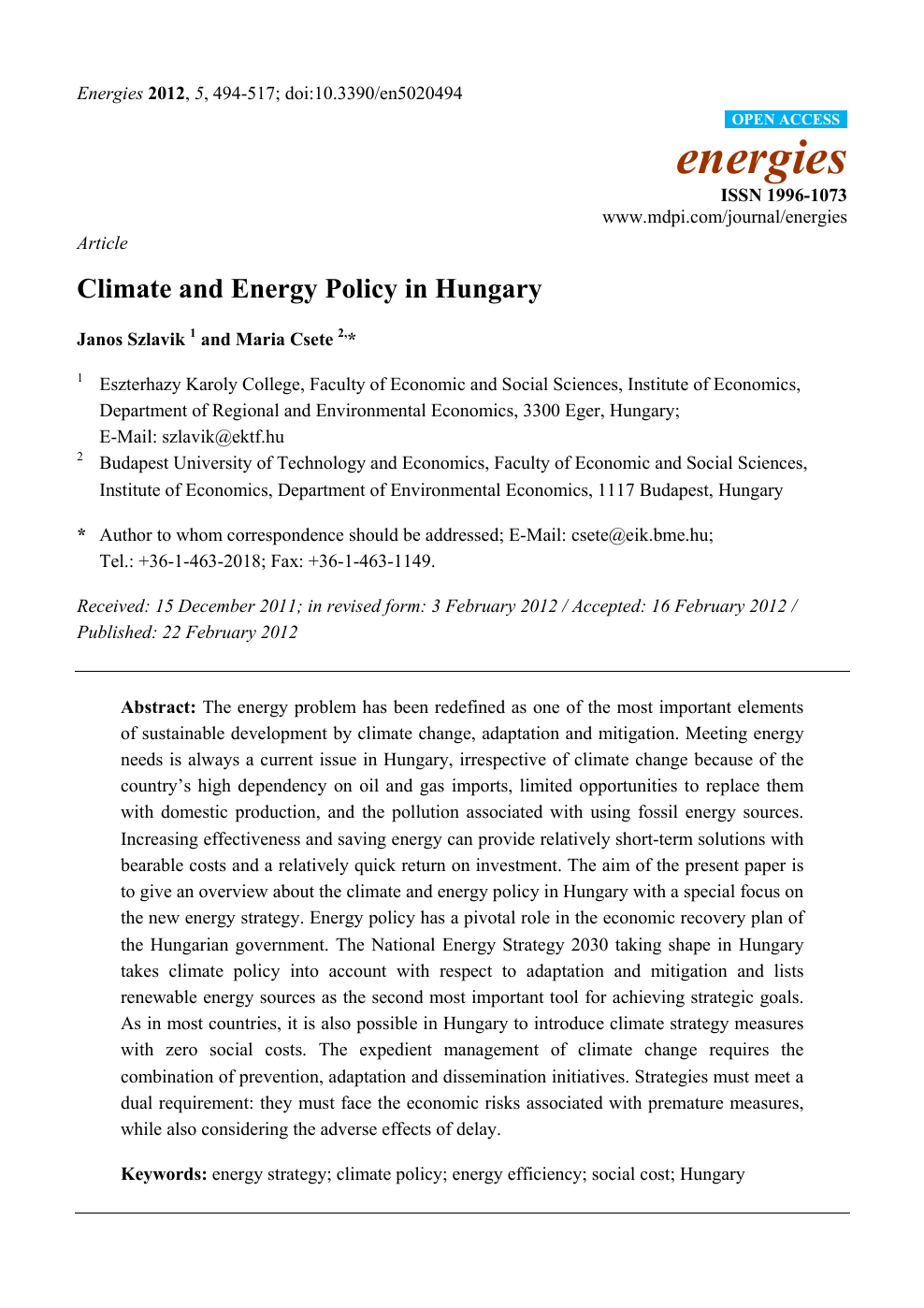 energy efficiency research topics