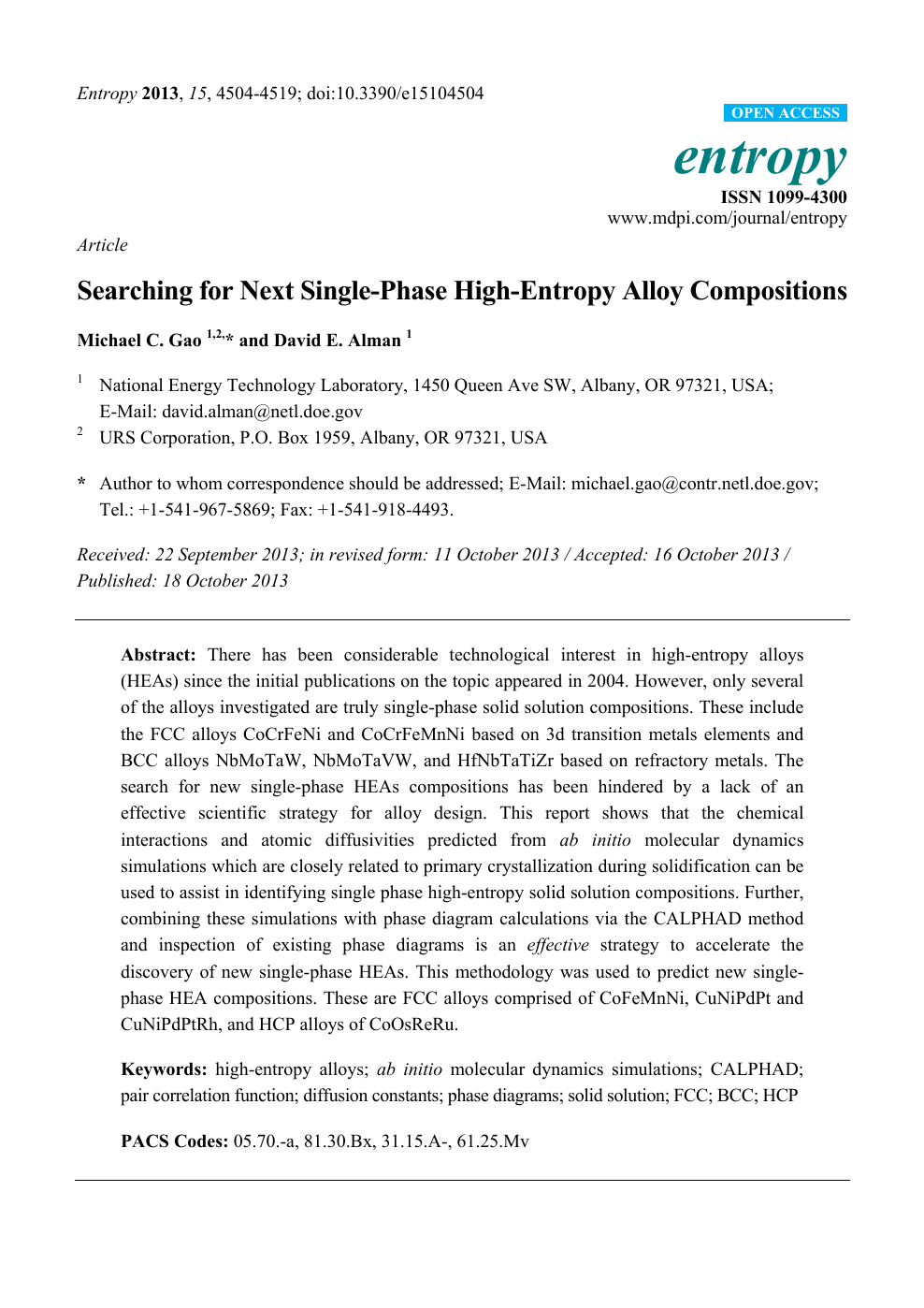 Searching for Next Single-Phase High-Entropy Alloy