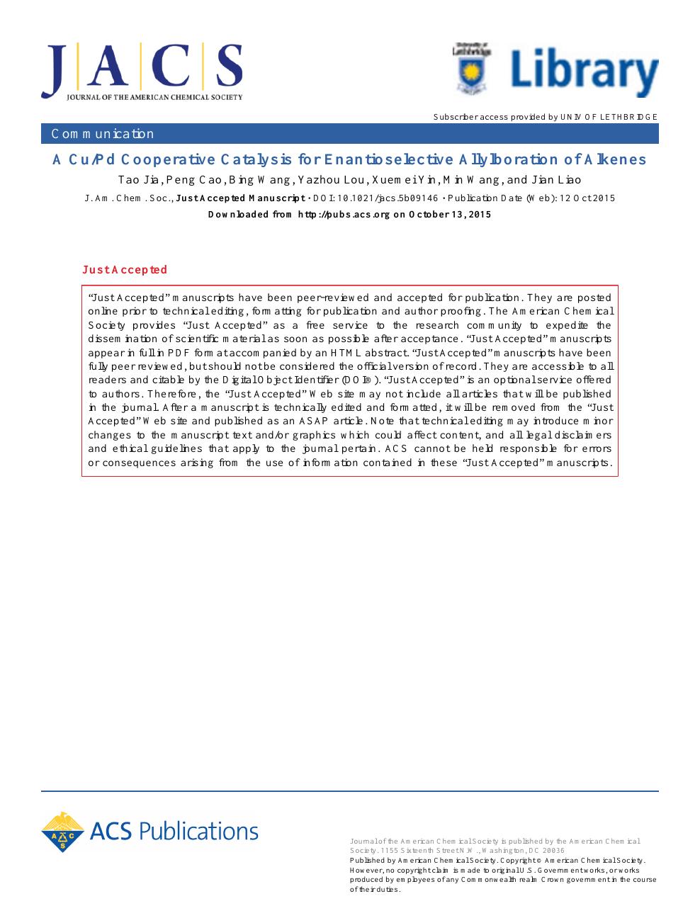 October scientific 2015 pdf american