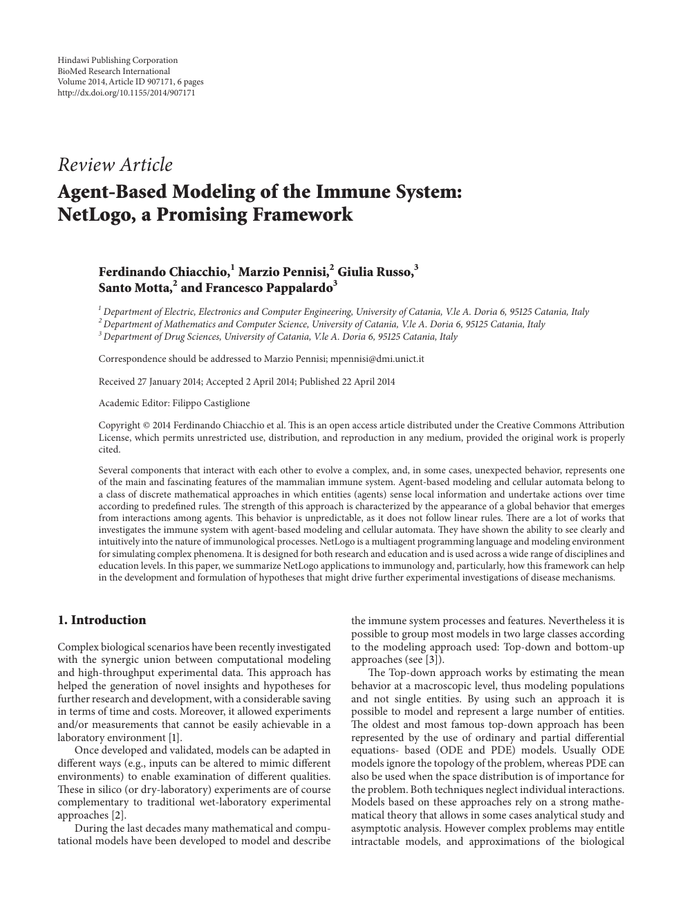 Agent Based Modeling Of The Immune System Netlogo A Promising Framework Topic Of Research Paper In Medical Engineering Download Scholarly Article Pdf And Read For Free On Cyberleninka Open Science Hub