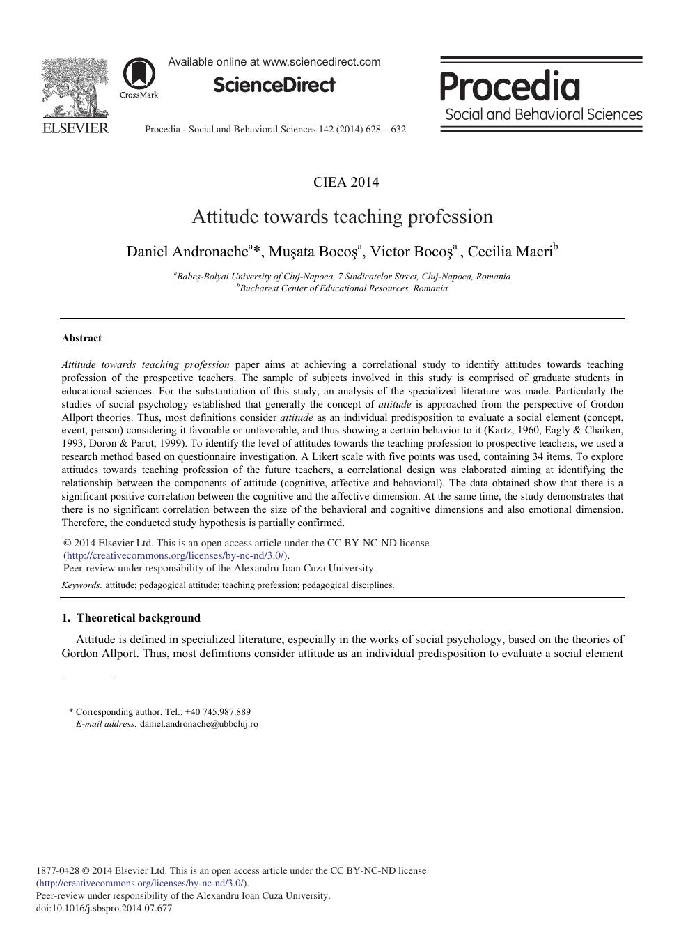 define social psychology paper