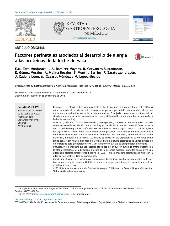 alergia a la proteina de la leche de vaca pdf