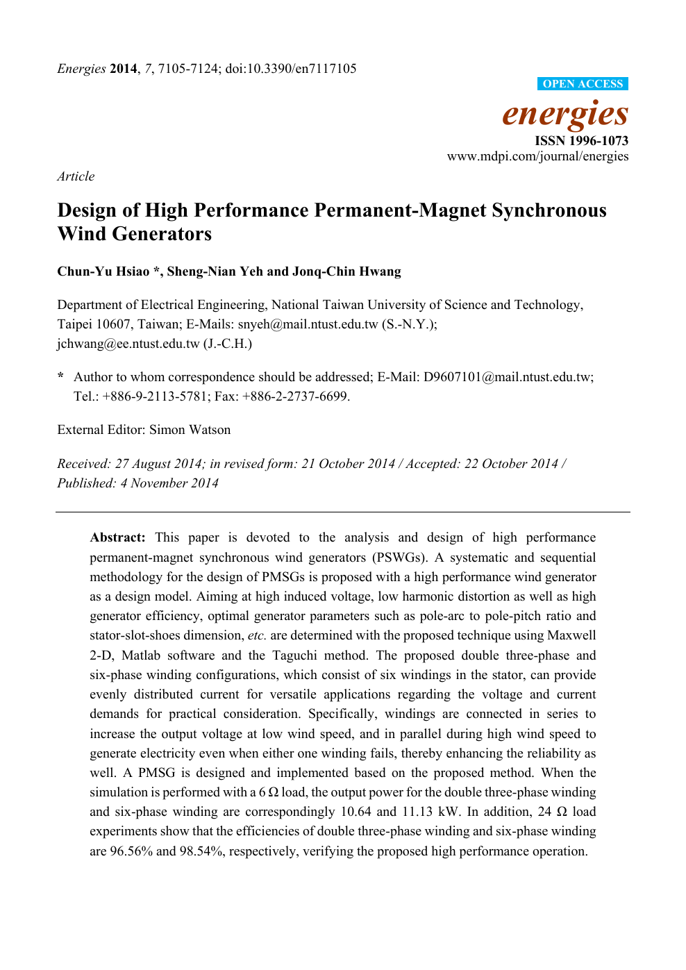 Design Of High Performance Permanent Magnet Synchronous Wind Generators Topic Of Research Paper In Electrical Engineering Electronic Engineering Information Engineering Download Scholarly Article Pdf And Read For Free On Cyberleninka Open Science