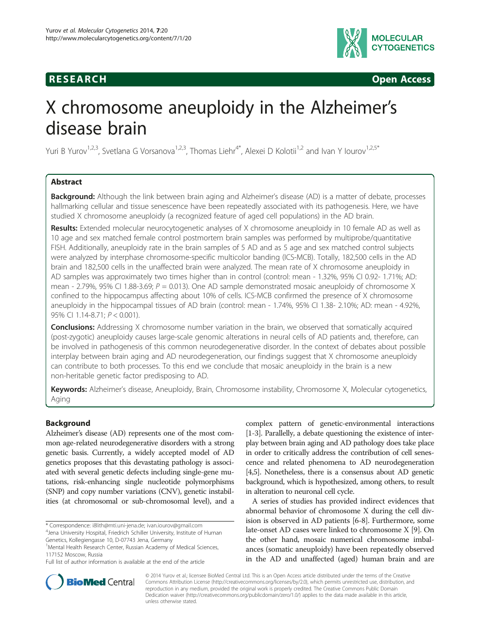 Five Ways In Which Postmortem Brain >> X Chromosome Aneuploidy In The Alzheimer S Disease Brain Topic Of
