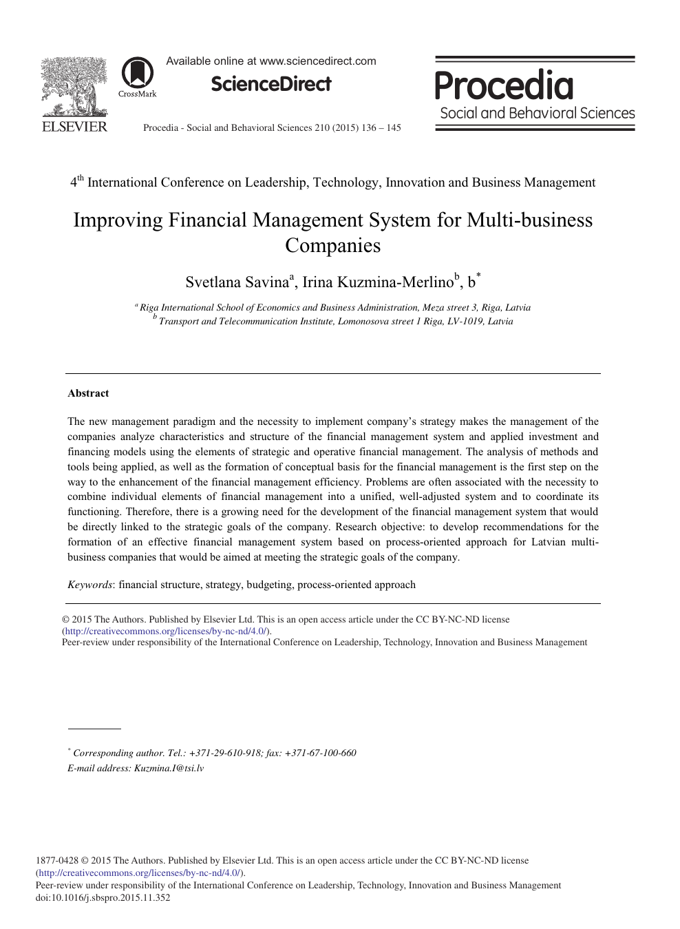 research paper business management