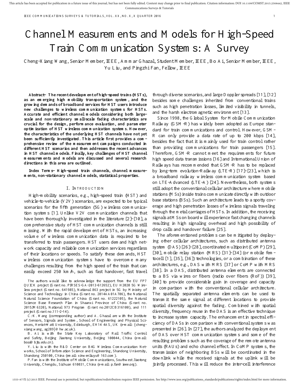 ieee research papers on electronics and communication