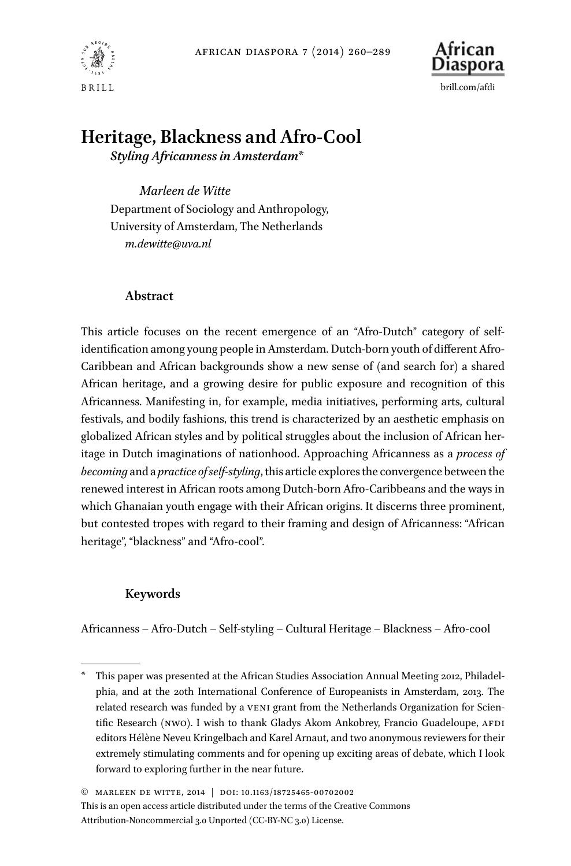 diasporic literature paper presentation
