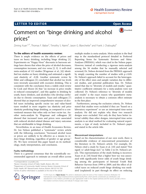 binge drinking paper research