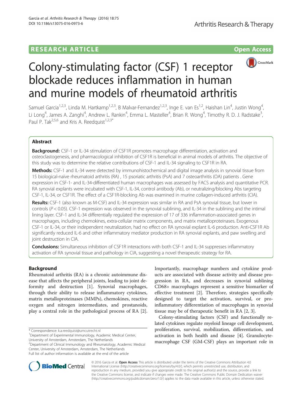 5495d6cd036 Colony-stimulating factor (CSF) 1 receptor blockade reduces ...