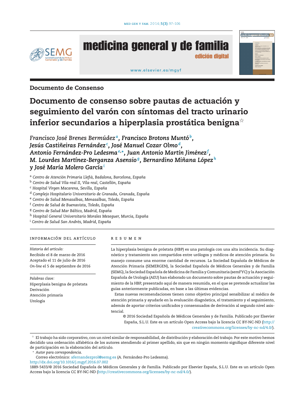 hiperplasia prostatica benigna clasificacion pdf