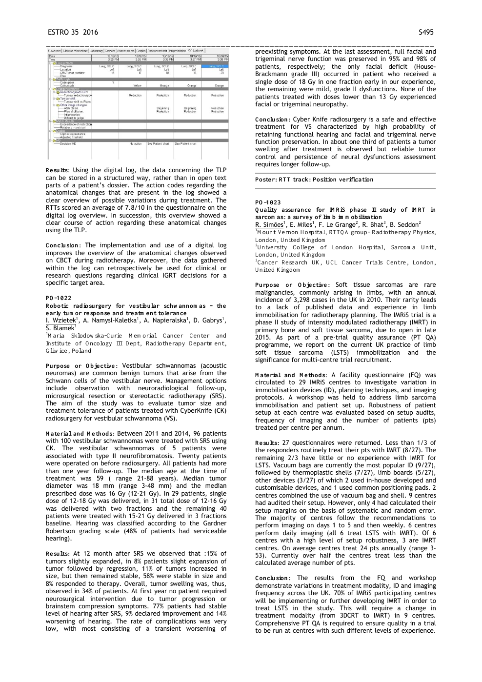 PO-1023: Quality assurance for IMRiS phase II study of IMRT