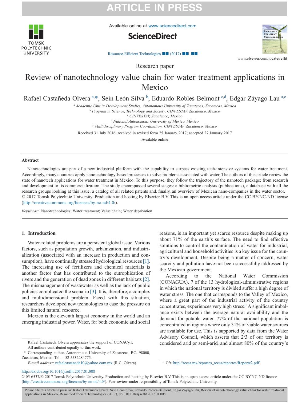 Nanotechnology Applications Pdf