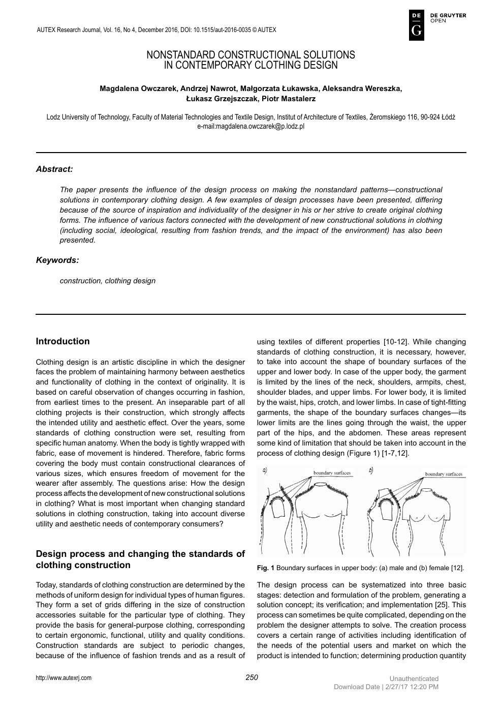 Nonstandard Constructional Solutions In Contemporary Clothing Design Topic Of Research Paper In Languages And Literature Download Scholarly Article Pdf And Read For Free On Cyberleninka Open Science Hub
