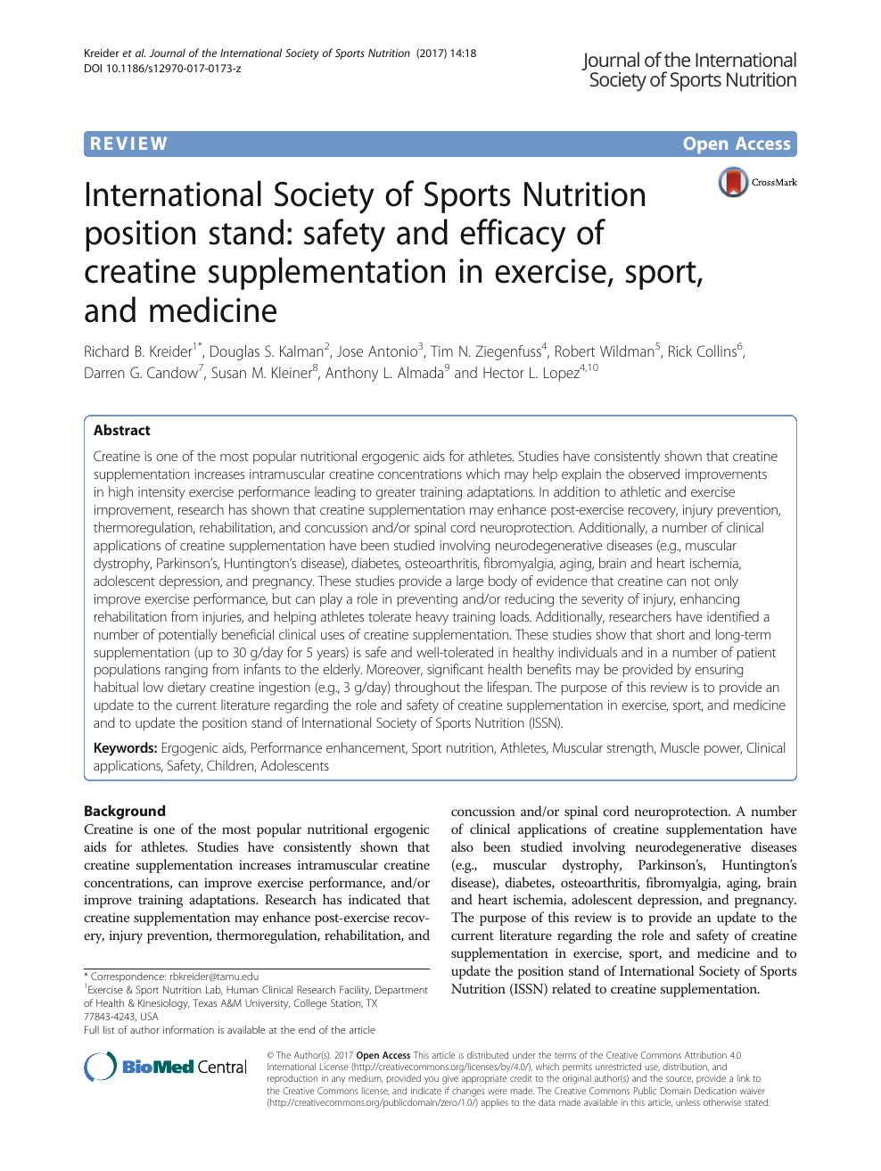 term paper on sports nutrition