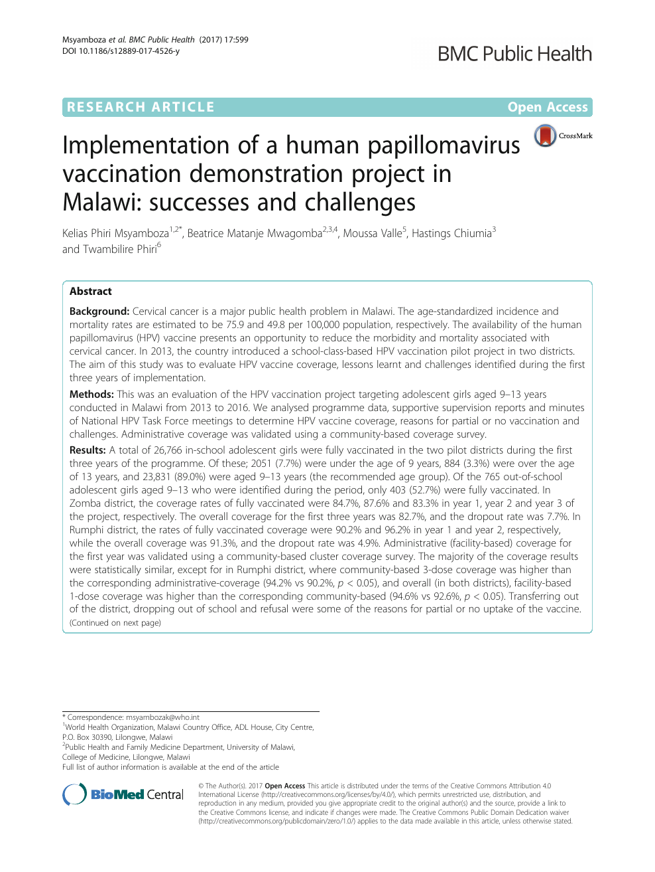 Human papillomavirus vaccine demonstration projects. Program vaccinare hpv Hpv gardasil doses