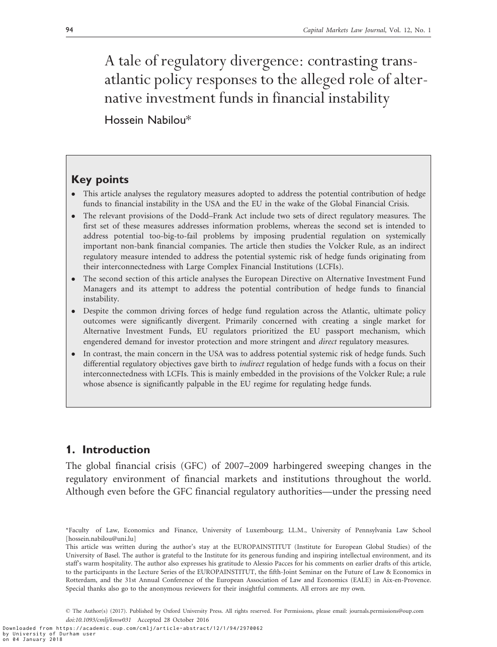 securities and investments review33