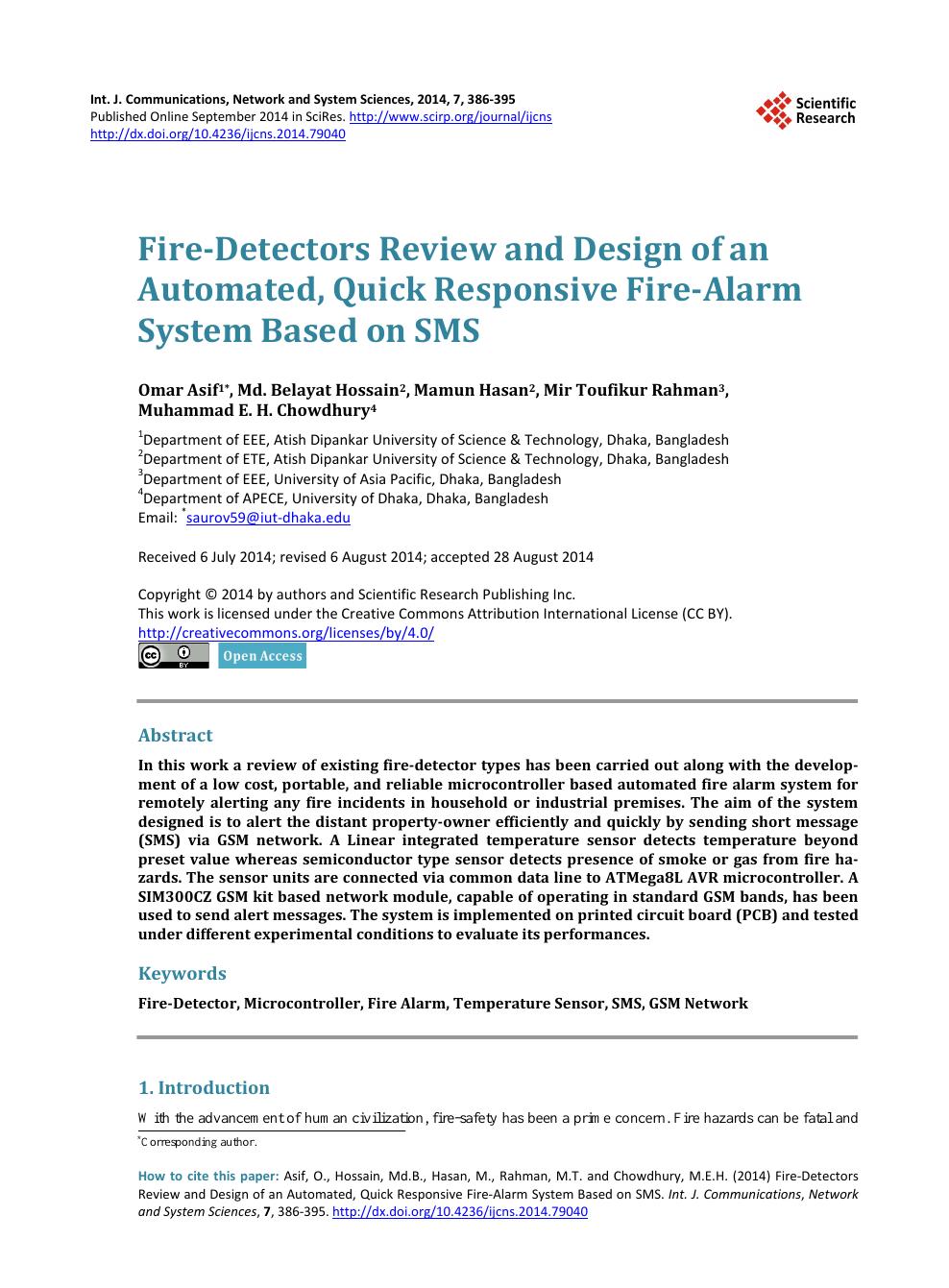 12V Network Industrial Smoke Detector Sensor Fire Smoke Alarm Home Security KF