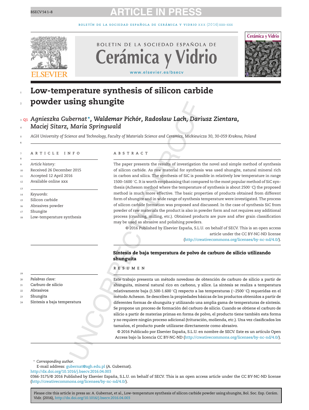 Low-temperature synthesis of silicon carbide powder using