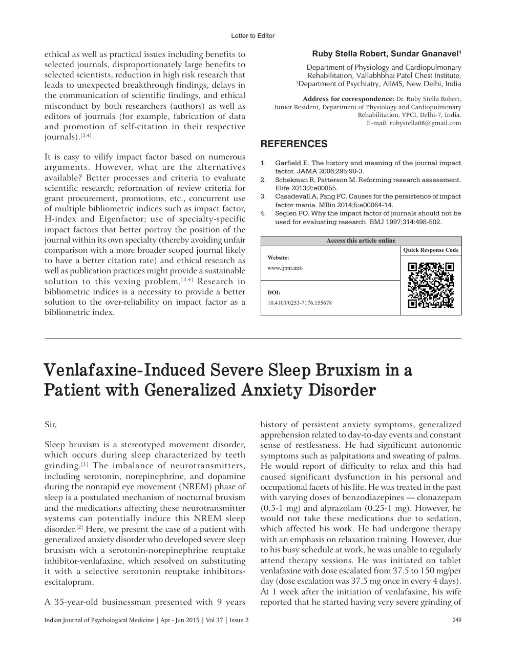 Thesis on generalized anxiety disorder