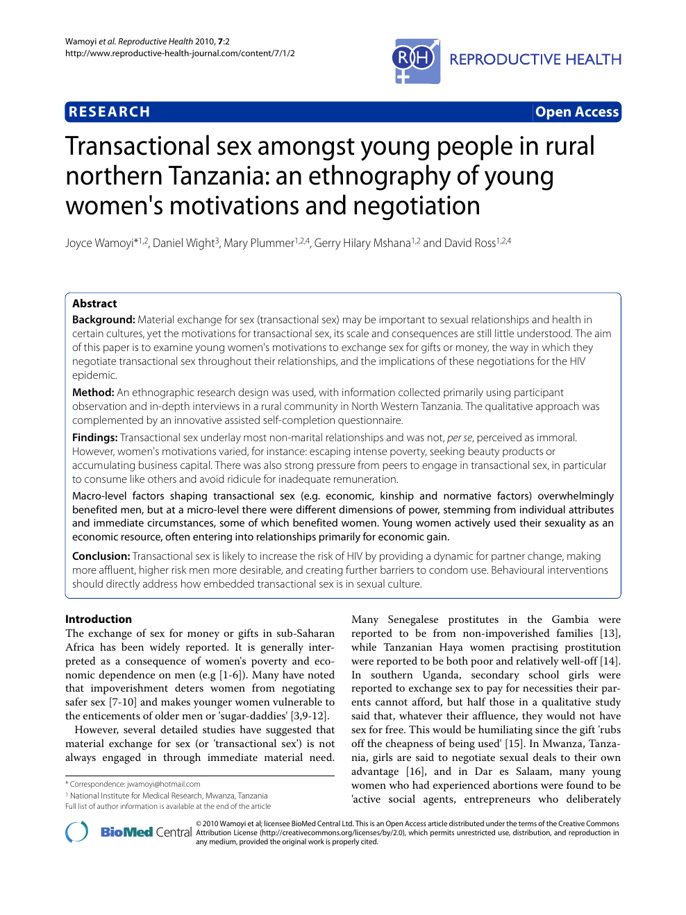 people sexual area Young health rural