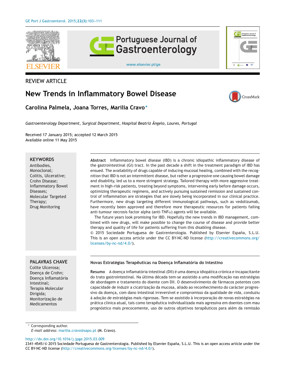 New Trends In Inflammatory Bowel Disease Topic Of Research Paper In Clinical Medicine Download Scholarly Article Pdf And Read For Free On Cyberleninka Open Science Hub