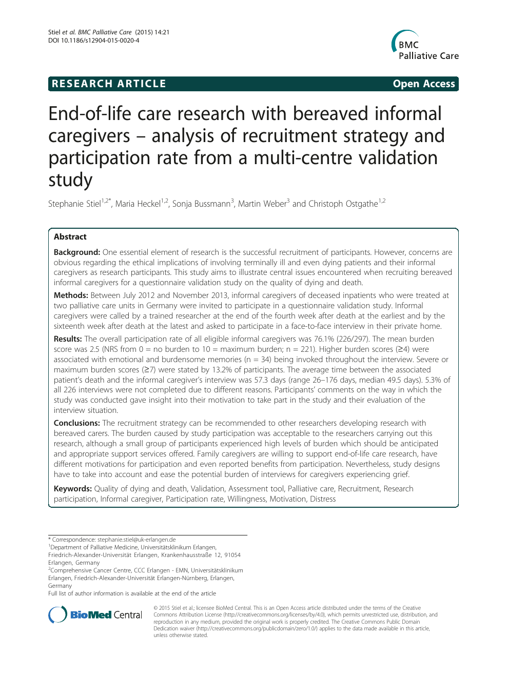 End of life care research paper help with my composition cv