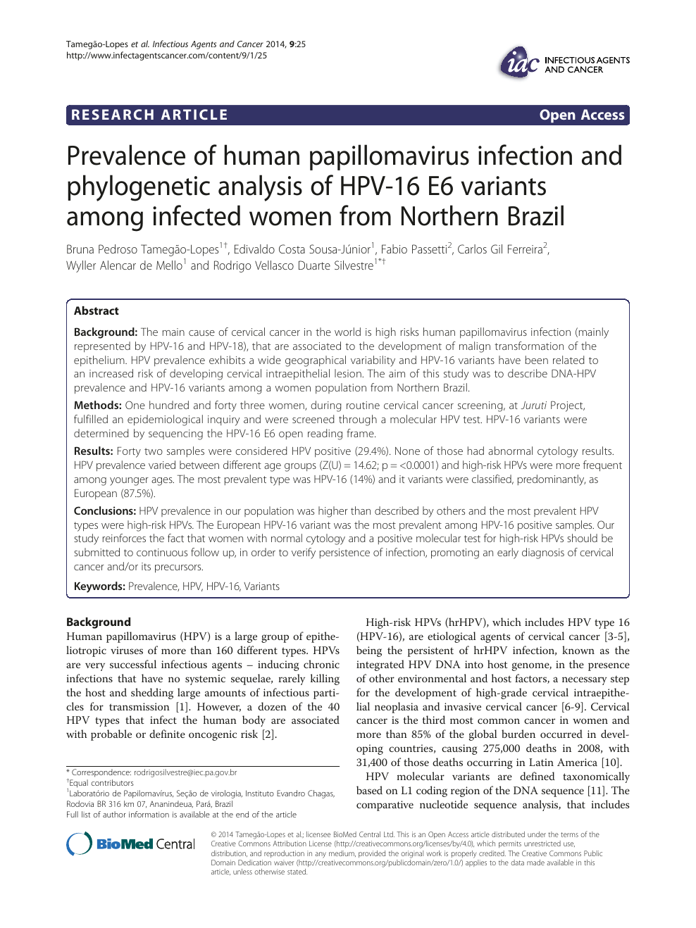 papillomavirus transmissible)